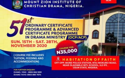 Ordinary And Advance Certificate Course